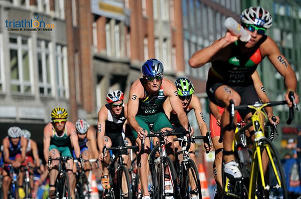 Fourth for Murray at ITU World Triathlon Series in Hamburg