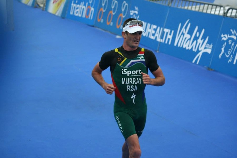 Richard Murray finishes fifth in ITU World Triathlon Series